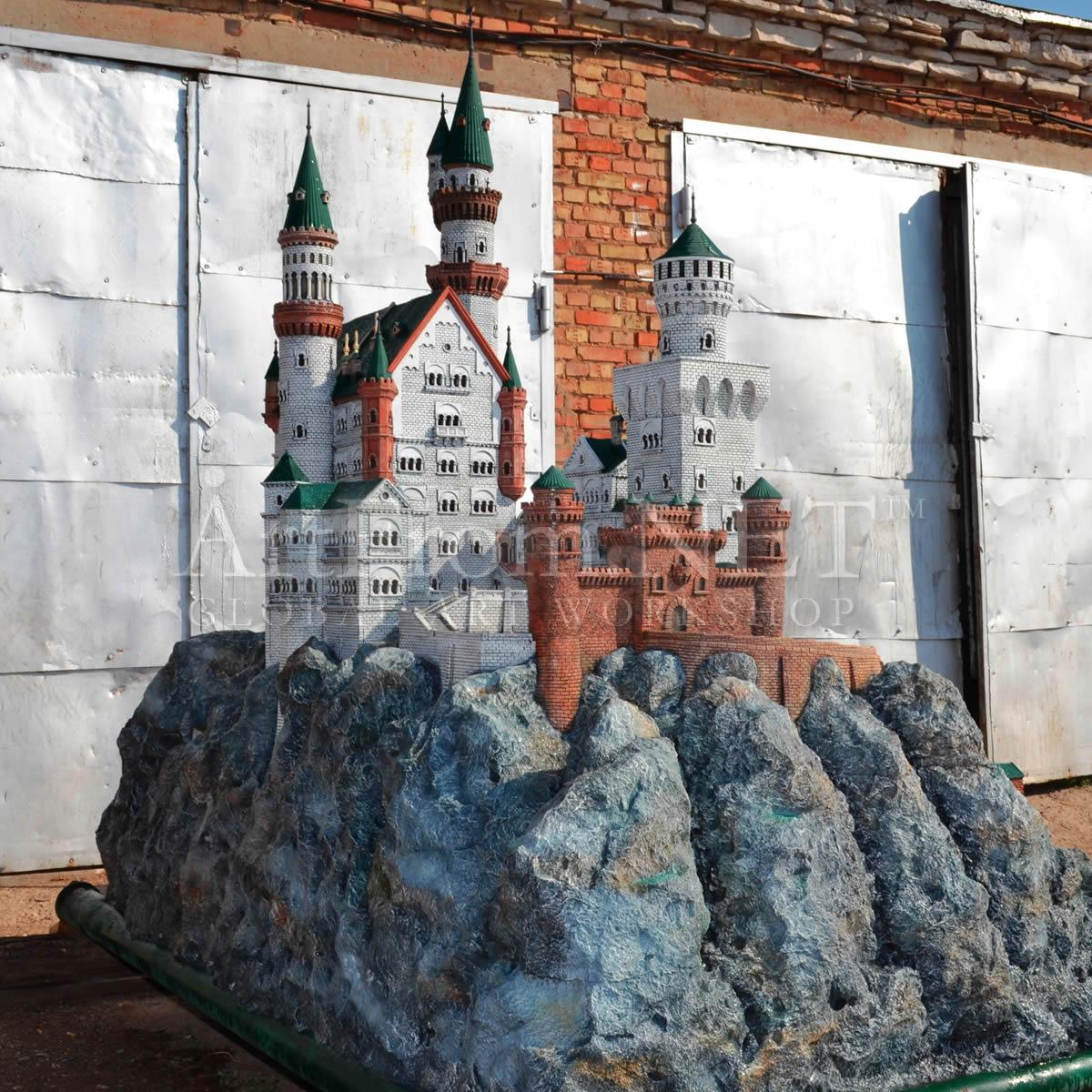 Крепость своими руками из бетона 19